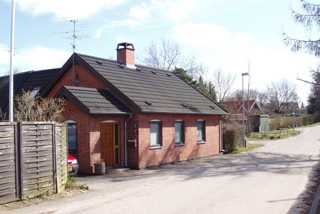Huset set fra Kløvervej mod syd 2008