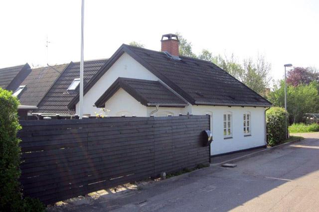 Huset set fra Kløvervej mod syd 2014