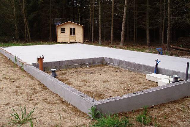 Fundamentet - så skal der bygges